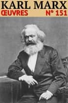 Karl Marx - Oeuvres - Classicompilé n° 151 ebook by Karl Marx