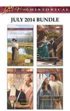 Love Inspired Historical July 2014 Bundle - A Hero in the Making\Groom by Design\Second Chance Cinderella\The Warrior's Vow ebook by Laurie Kingery, Christine Johnson, Carla Capshaw,...