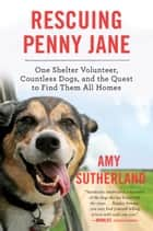 Rescuing Penny Jane - One Shelter Volunteer, Countless Dogs, and the Quest to Find Them All Homes ebook by Amy Sutherland