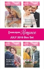 Harlequin Romance July 2018 Box Set - Summer Romance with the Italian Tycoon\Reunited at the Altar\Best Man and the Runaway Bride\Tempted by Her Island Millionaire ebook by Jessica Gilmore, Kate Hardy, Kandy Shepherd,...