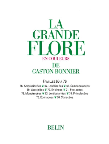 La grande Flore (Volume 11) - Famille 66 à 76 ebook by Gaston Bonnier