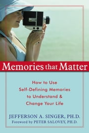 Memories That Matter: How to Use Self-Defining Memories to Understand and Change Your Life ebook by Singer, Jefferson A.