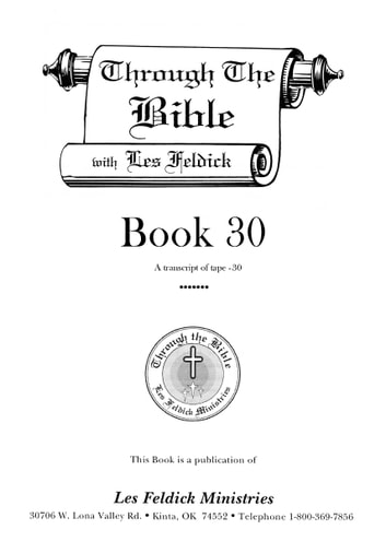 Through the Bible with Les Feldick, Book 30 ebook by Les Feldick Ministries