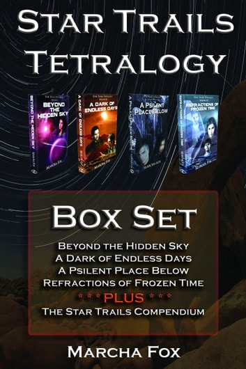 Star Trails Tetralogy Box Set ebook by Marcha Fox