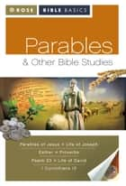 Parables and Other Bible Studies ebook by Rose Publishing