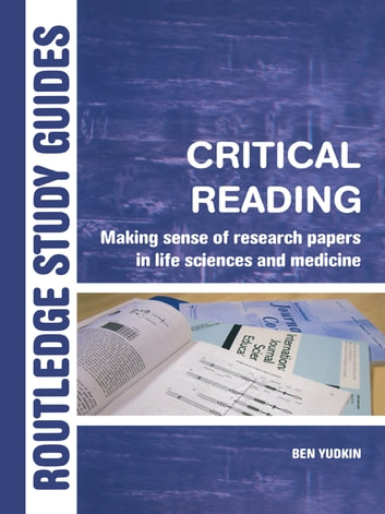 a guide to the critical reading of scientific research papers In the social sciences, critical reading also means being aware of how a reading fits into an analytic lineage that means identifying the research question being asked, what has been said about that question, and what the current author is contributing to the analysis.