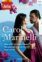 Julia Bestseller Band 164 ebook by Carol Marinelli