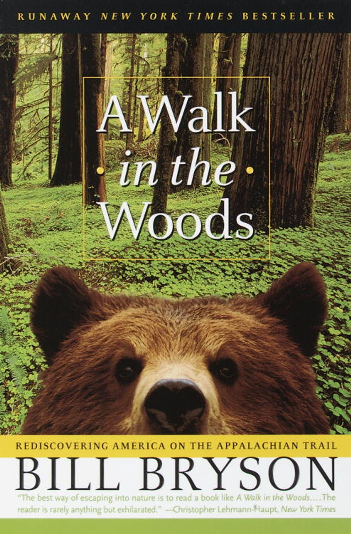A Walk In The Woods  Rediscovering America On The Appalachian Trail Ebook  By Bill Bryson