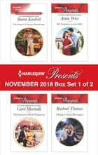 Harlequin Presents November 2018 - Box Set 1 of 2 - The Italian's Christmas Housekeeper\The Innocent's Shock Pregnancy\Her Forgotten Lover's Heir\A Ring to Claim His Legacy 電子書 by Sharon Kendrick, Carol Marinelli, Annie West,...