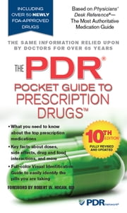 The PDR Pocket Guide to Prescription Drugs ebook by PDR Staff