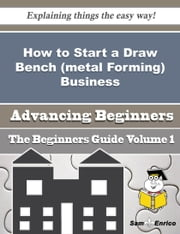 How to Start a Draw Bench (metal Forming) Business (Beginners Guide) ebook by Shela Stratton,Sam Enrico