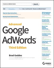 Advanced Google AdWords ebook by Brad Geddes