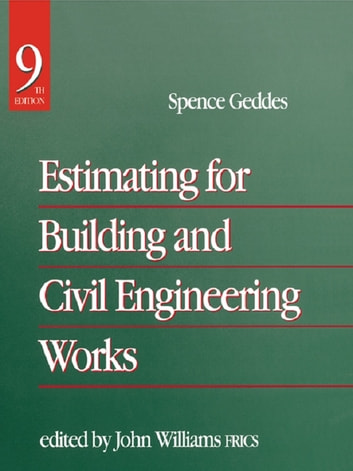 estimating for building and civil engineering works pdf
