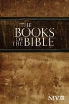 NIV, Books of the Bible, eBook ebook by