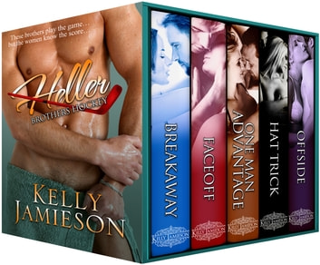 Heller Brothers Hockey — A Five Book Hockey Romance Collection ebook by Kelly Jamieson