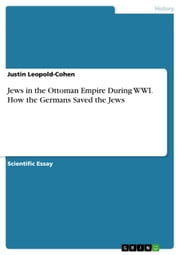 Jews in the Ottoman Empire During WWI. How the Germans Saved the Jews ebook by Justin Leopold-Cohen