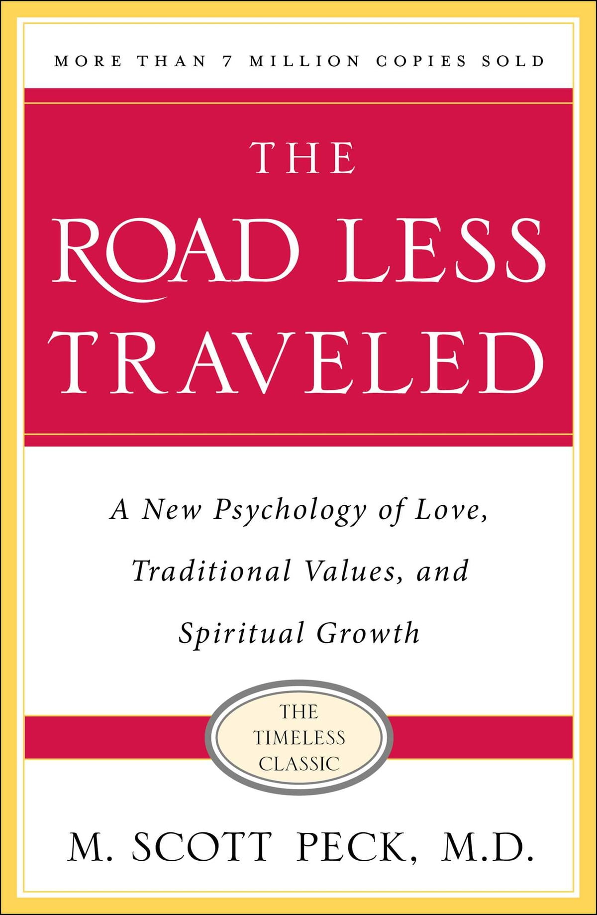 The Road Less Traveled  A New Psychology Of Love, Traditional Values And  Spiritual Growth