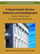 E-Government Service Maturity and Development ebook by Mahmud Akhter Shareef,Norm Archer,Shantanu Dutta