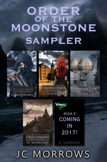 Order of the MoonStone series Sampler ebook by JC Morrows