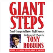 Giant Steps - Small Changes to Make a Big Difference audiobook by Tony Robbins