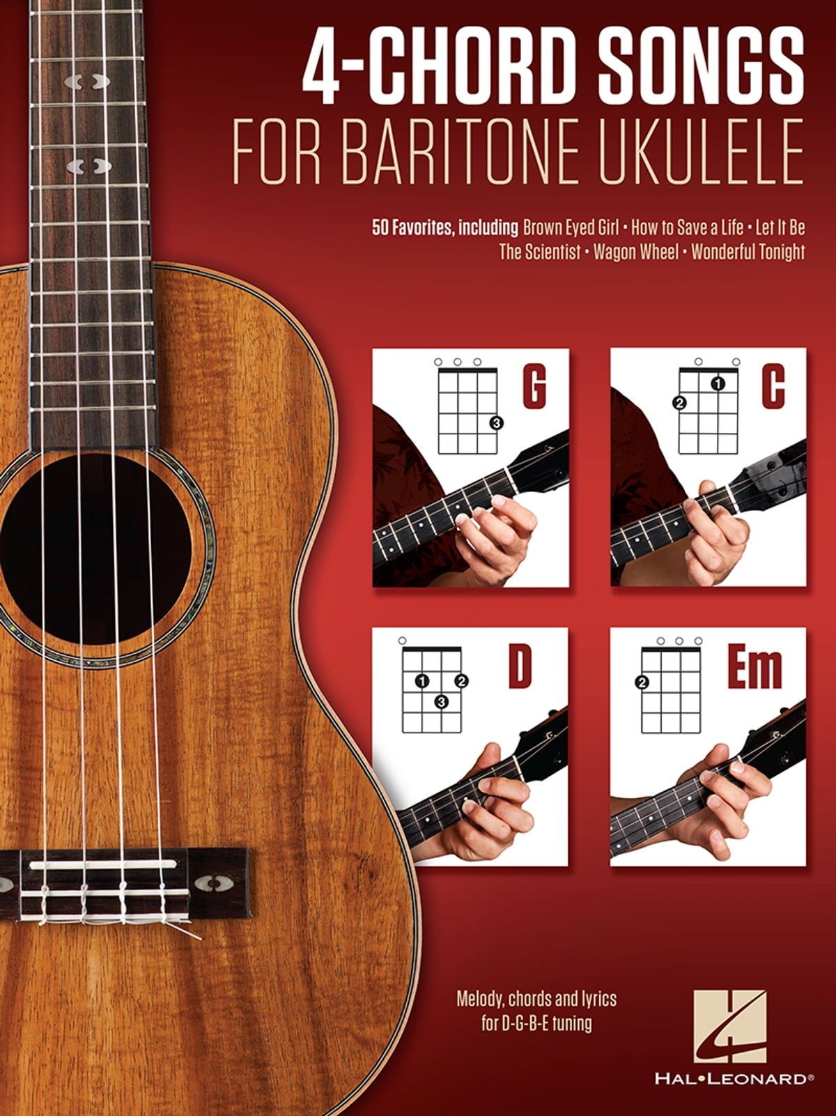 4 Chord Songs For Baritone Ukulele G C D Em Ebook By Hal Leonard
