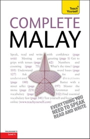 Complete Malay Beginner to Intermediate Book and Audio Course - Learn to read, write, speak and understand a new language with Teach Yourself ebook by Christopher Byrnes, Tam Lye Suan