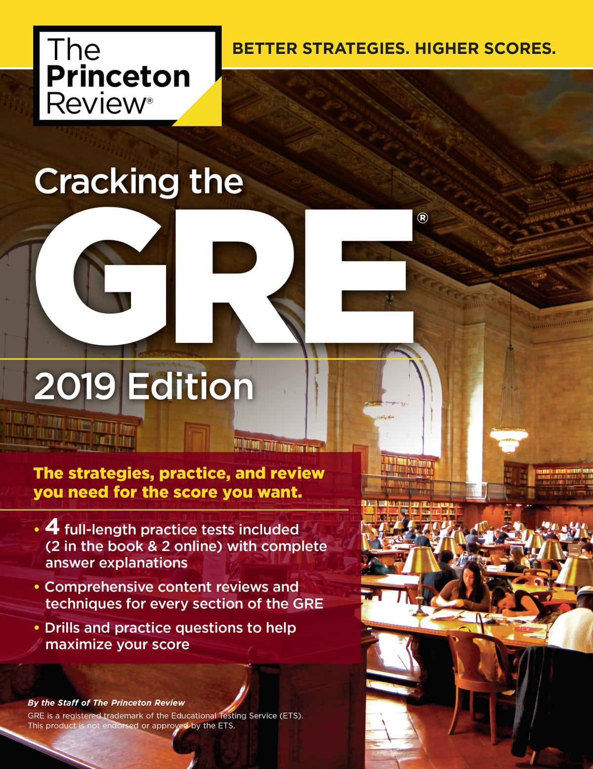 Cracking the GRE with 4 Practice Tests, 2019 Edition eBook by Princeton  Review - 9781524758264 | Rakuten Kobo