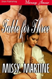 Table For Three ebook by Missy Martine