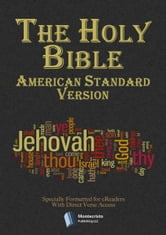 The Holy Bible - American Standard Version ebook by Bible