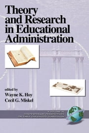 Theory and Research in Educational Administration Vol. 1 ebook by Cecil Miskel,Wayne K. Hoy
