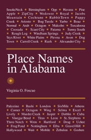 Place Names in Alabama ebook by Virginia O. Foscue
