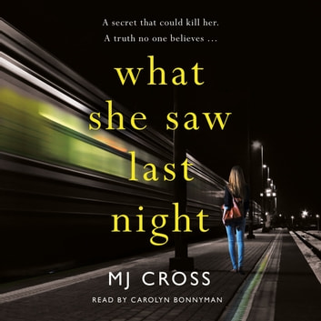 What She Saw Last Night audiobook by Mason Cross