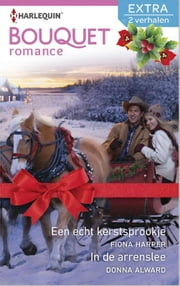 Een echt kerstsprookje ; In de arrenslee ebook by Fiona Harper,Donna Alward