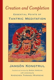 Creation and Completion - Essential Points of Tantric Meditation ebook by Jamgon Kongtrul,Sarah Harding,Khenchen Thrangu Rinpoche