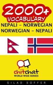 2000+ Vocabulary Nepali - Norwegian ebook by Gilad Soffer