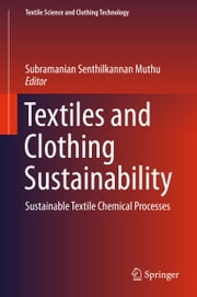 Textiles and Clothing Sustainability - Sustainable Textile Chemical Processes ebook by Subramanian Senthilkannan Muthu