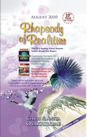 Rhapsody of Realities August Edition ebook by Pastor Chris and Anita Oyakhilome