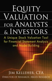 Equity Valuation for Analysts and Investors ebook by James Kelleher