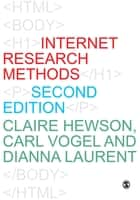 Internet Research Methods ebook by Claire Hewson, Carl Vogel, Dianna Laurent