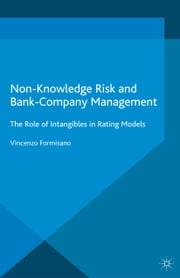 Non-Knowledge Risk and Bank-Company Management - The Role of Intangibles in Rating Models ebook by Vincenzo Formisano