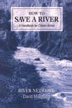 How to Save a River - A Handbook For Citizen Action ebook by David M Bolling