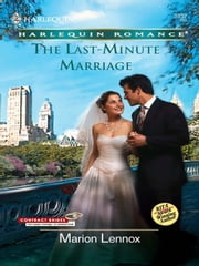 The Last-Minute Marriage ebook by Marion Lennox