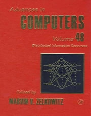 Distributed Information Resources ebook by Marvin Zelkowitz