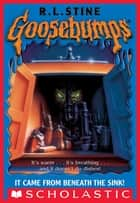 It Came From Beneath The Sink (Goosebumps #30) ebook by R. L. Stine