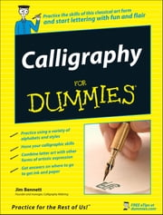Calligraphy For Dummies ebook by Jim Bennett