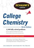 Schaum's Outline of College Chemistry, Ninth Edition ebook by Jerome Rosenberg,Lawrence Epstein,Peter Krieger