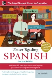 Better Reading Spanish, 2nd Edition ebook by Jean Yates