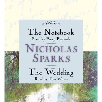 The Notebook & The Wedding Box Set - Featuring the Unabridged Audio Recordings of The Notebook and The Wedding audiobook by Nicholas Sparks