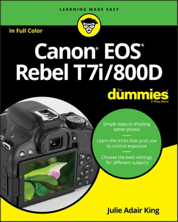 Canon Eos Rebel T7i 800d For Dummies