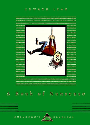 A Book of Nonsense ebook by Edward Lear
